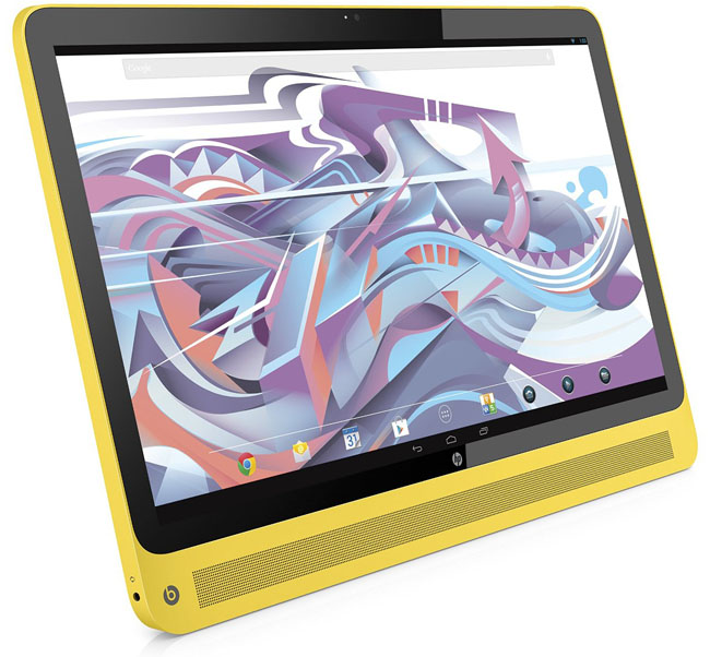 HP Slate 17 sweet yellow