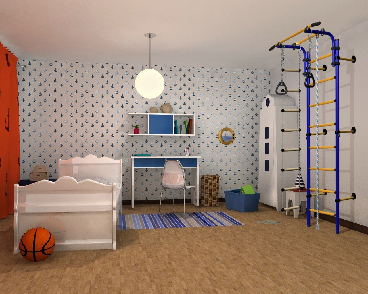 Climbing frame indoor Christopeit Stage