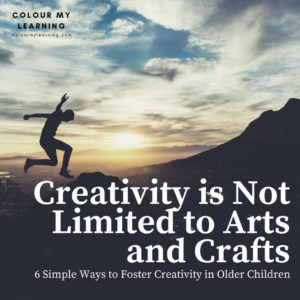 Creativity is Not Limited to Arts and Crafts