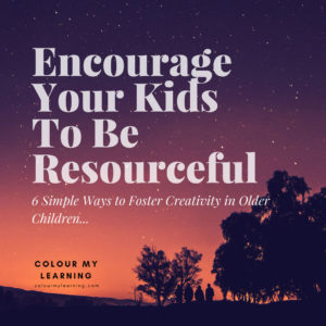 Encourage Your Kids To Be Resourceful