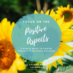 Focus on the Positive Aspects