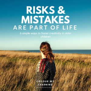 Risks and Mistakes are Part of Life