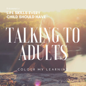 Talking to Adults