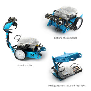 mBot interactive light and sound