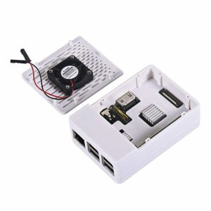 Raspberry Pi Case with Heat Sink and Fan