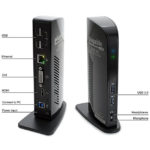 Plugable USB 3 Front and Back