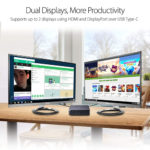ASUS CHROMEBOX 3 Dual Monitor Support