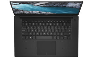 Dell XPS 15-9570 Top Down