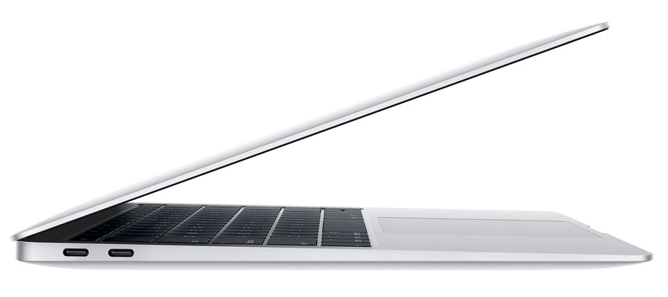 MacBook Air 13 2018 side profile