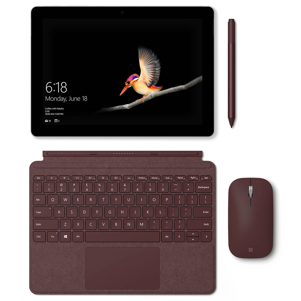 Microsoft Surface Go with Accessories