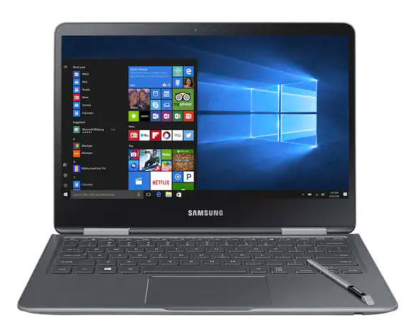 Samsung Notebook 9 Pro 13 laptop mode