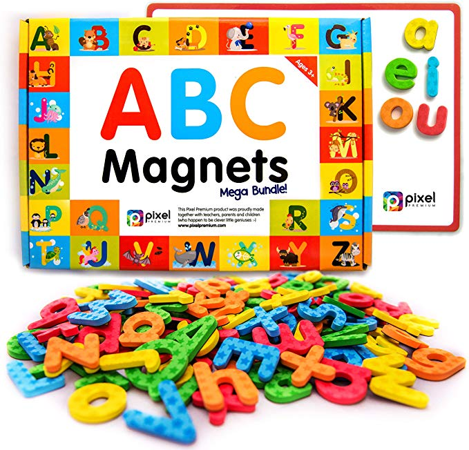 Magnetic Alphabets